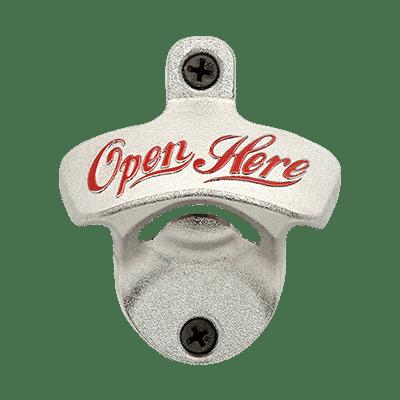 10 Stück Flaschenöffner Wandmontage Bar Vintage-Stil Schrauben Dauerhaft